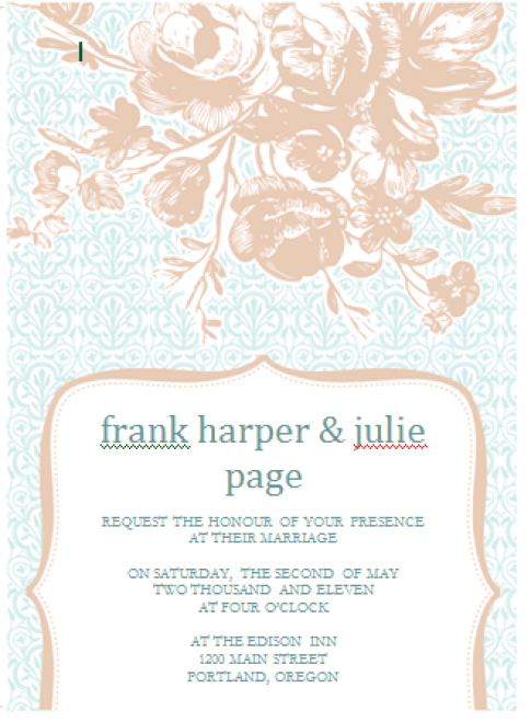 free invitation template 3641