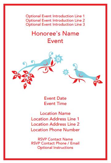 free event invite template