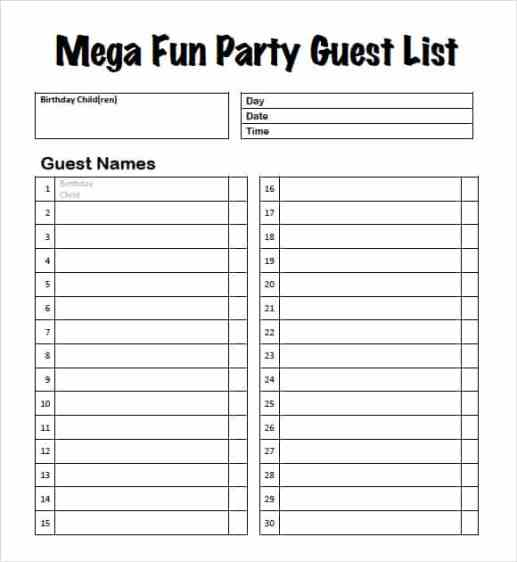 guest list example 18.941