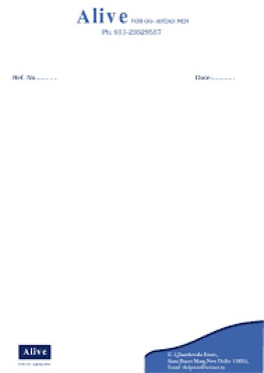 letterhead sample 19.941