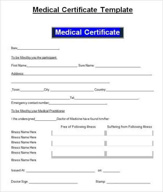 medical certificaet example 114.41