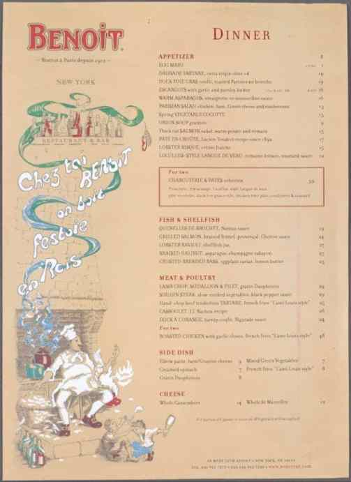 menu sample 3641