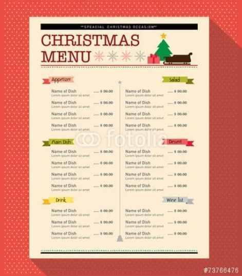 menu sample 8941