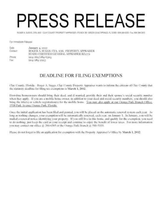 press release sample 13.641