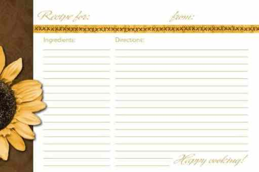 recipe card sample 19.9461