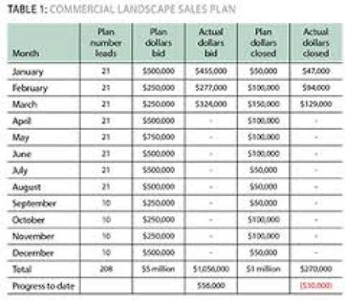 sales plan example 10.9641