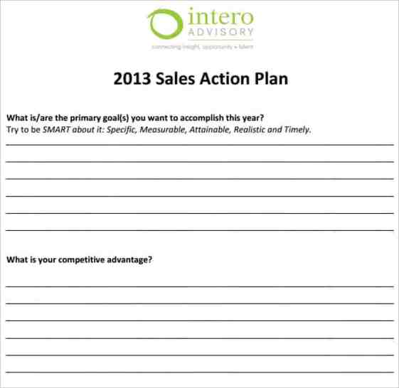 weekly sales planner template