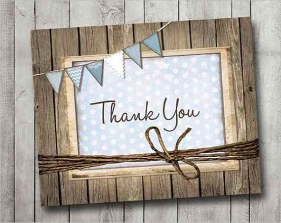 thank you card template 4941