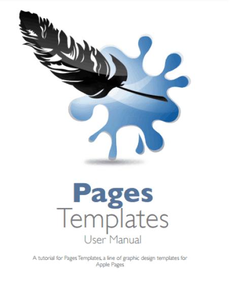 user manual template 4741