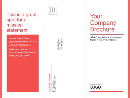 Word Brochure Format 19641  Brochure Templates Word