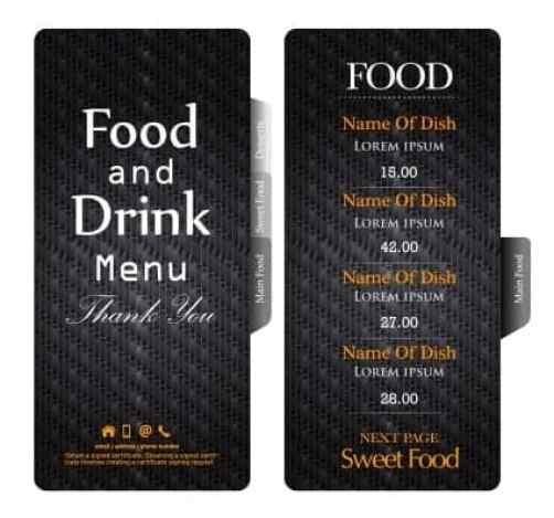 Free Restaurant Menu Templates 641