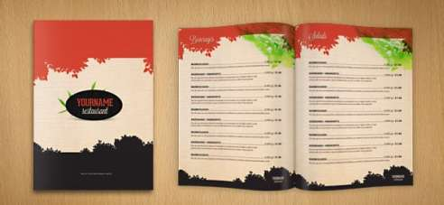 Free Restaurant Menu sample 10.61