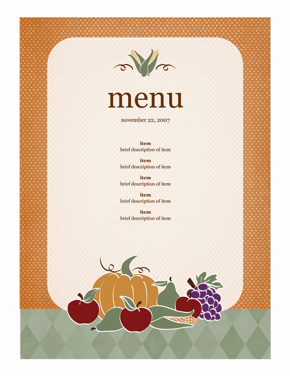 21 Free Free Restaurant Menu Templates Word Excel Formats – Free Menu Templates Microsoft Word