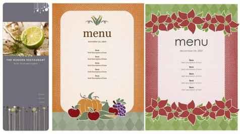 21+ Free Free Restaurant Menu Templates - Word Excel Formats
