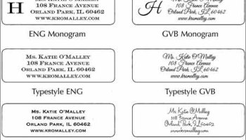 Free Mail Merge Templates In Word Excel PDF - His and hers address labels template