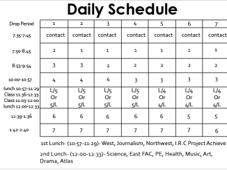study schedule templates