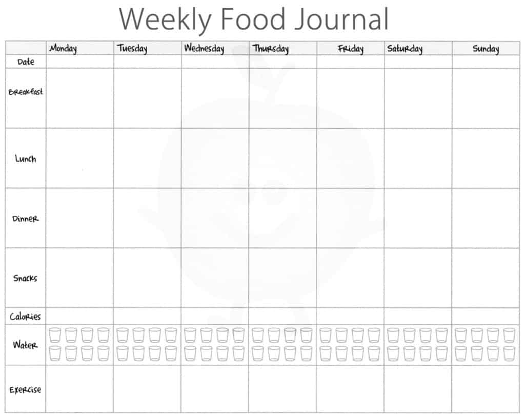 my question is why am i getting logged out daily. 21 Free Food Journal Template Word Excel Formats