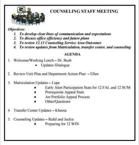 meeting agenda sample 11.9741