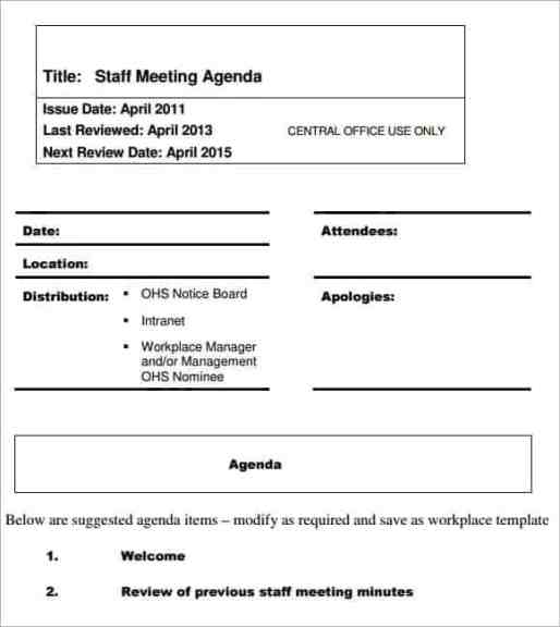 meeting agenda sample 16.41