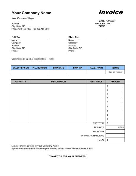 sales invoice sample 13.416