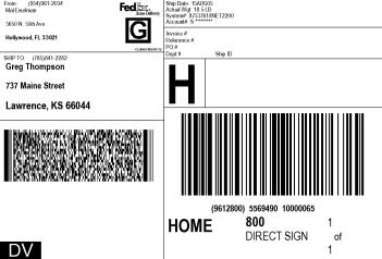 shipping label sample 15.641