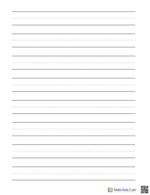 writing paper sample 3461