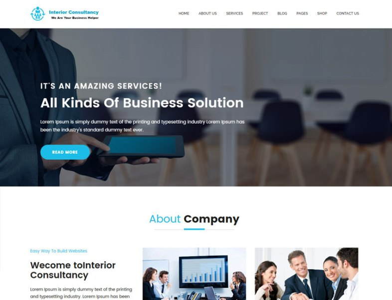 Interior Consultancy – Consulting and Professional HTML Template - Best  Premium and Free Responsive WordPress Themes from Template Sell