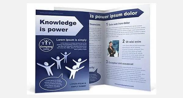 Bi Fold Brochure Templates  461