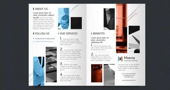Bi Fold Brochure Templates  541