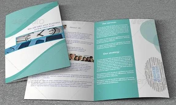 Bi Fold Brochure Templates  84