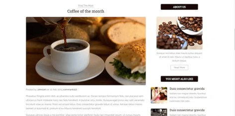 Bootstrap Blog Templates 34