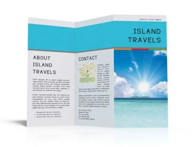 Tri Fold Brochure Templates 13.44
