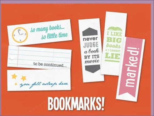 bookmark template 341