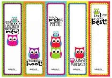 bookmark template 4