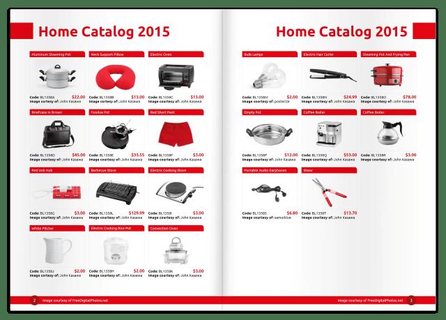 catalog template 941
