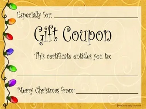coupon template 46