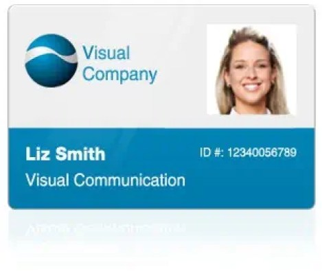 employee id card template 794
