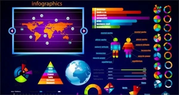 infographics psd 841