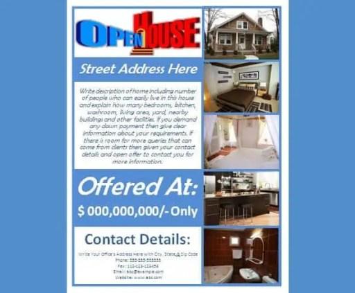 open house flyer 61