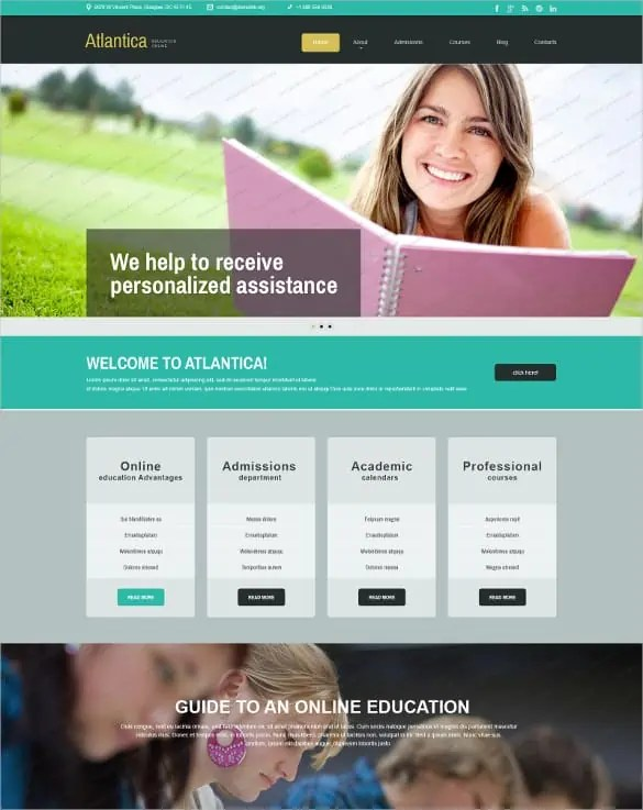 php template 164