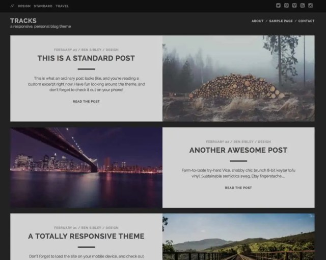 Free WordPress Themes For Tech Blog 61