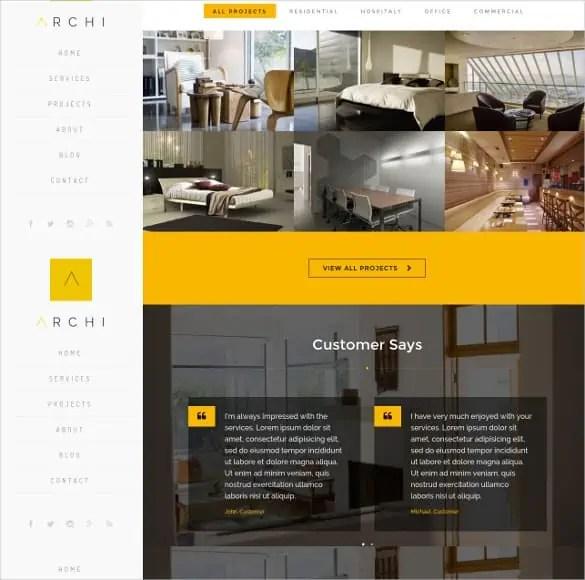 Interior Design WordPress Theme Free Download 2641