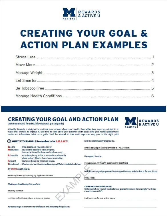 action plan template excel 2461