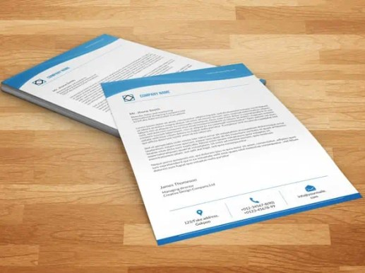 business letterhead template 1546