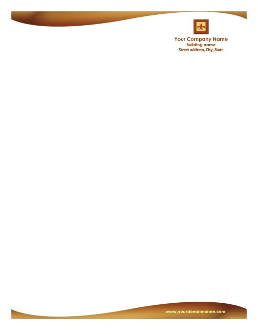 business letterhead template 946