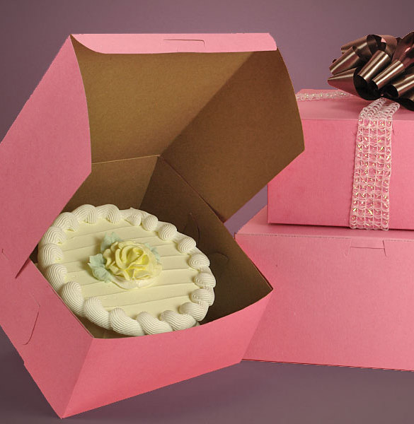cake box template 164