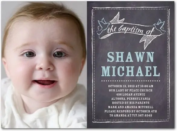 chalkboard invitation template 6984