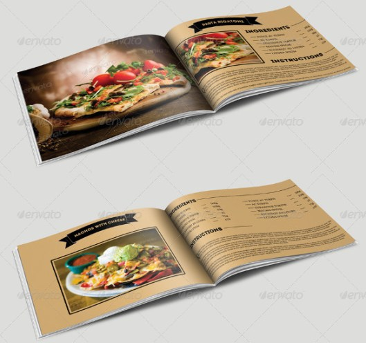 Awesome Cookbook Templates For Word Contemporary - Example Resume ...