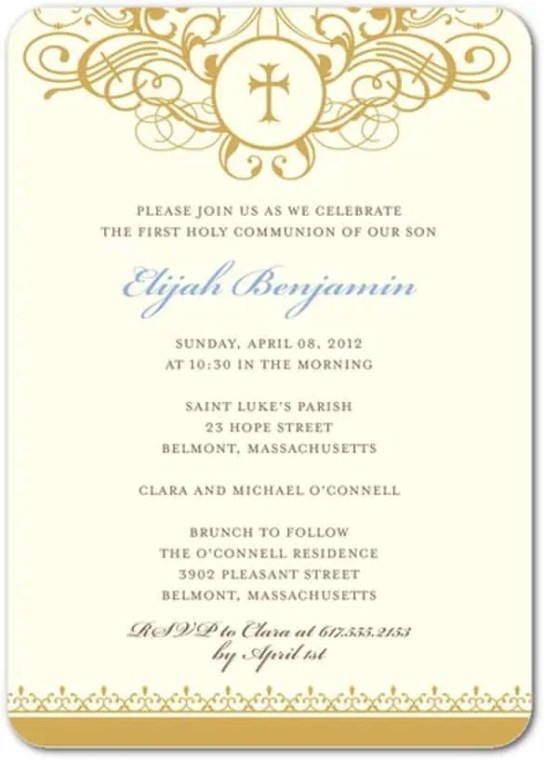 formal invitation template 4964