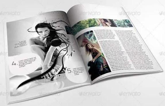 magazine template 2641